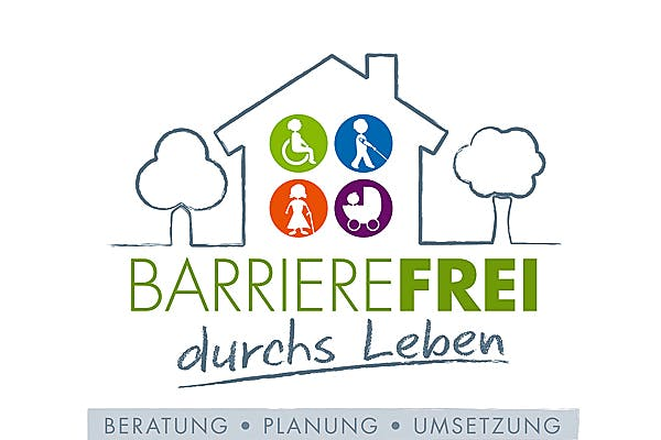 Logo barrierefrei durchs Leben Korte Holzbau