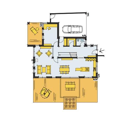 Korte - Thoman Floorplan 1
