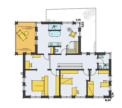 Korte - Thoman Floorplan 2
