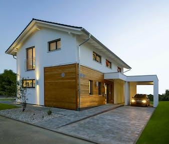 h user mit carport preise anbieter infos. Black Bedroom Furniture Sets. Home Design Ideas