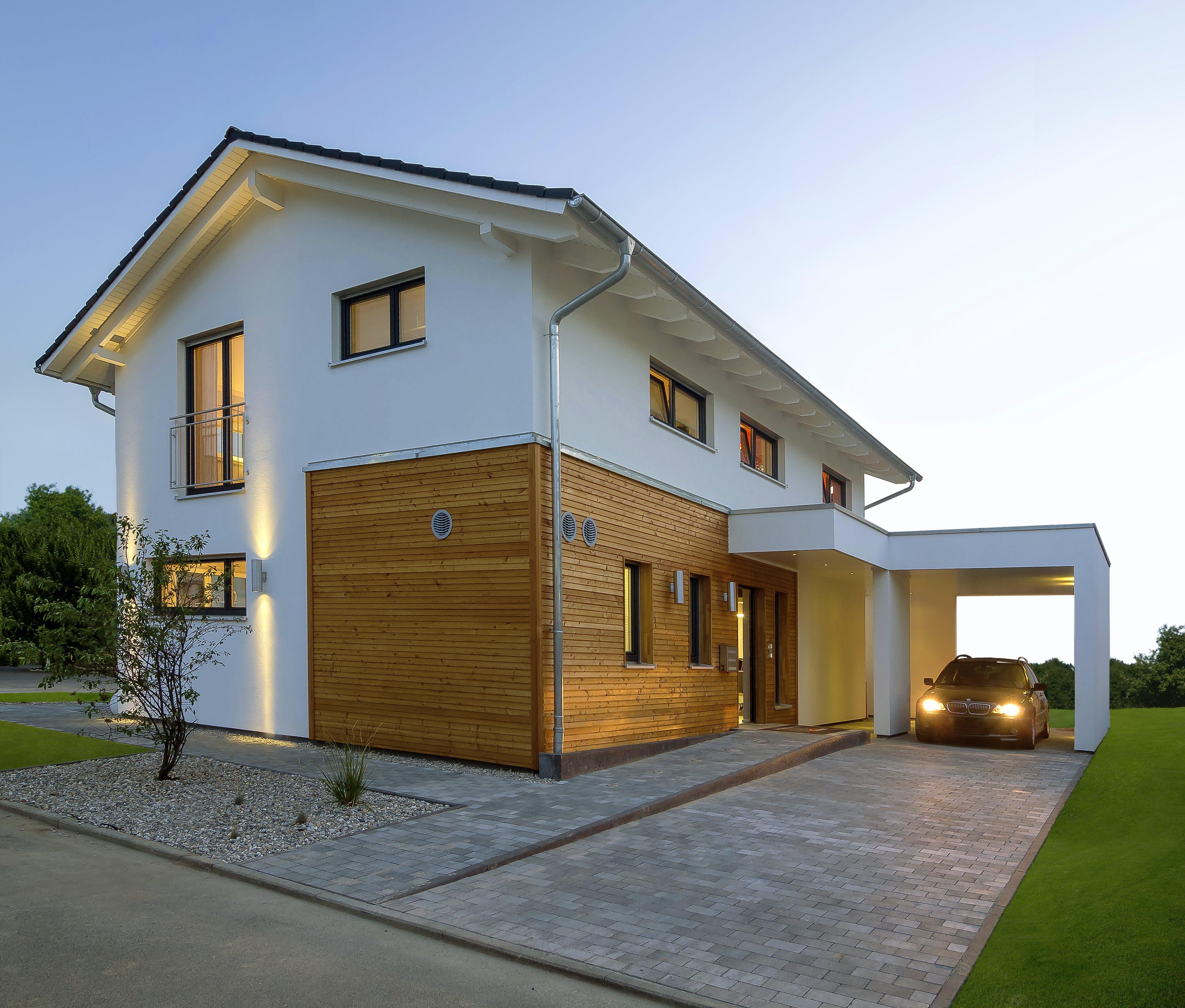 Häuser mit Carport - Preise | Anbieter | Infos