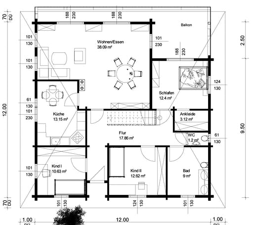 Krickenbach Floorplan 1