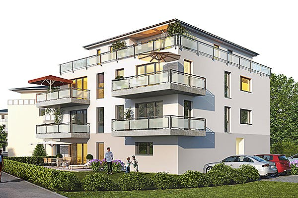 Massives Mehrfamilienhaus von Krynos Haus