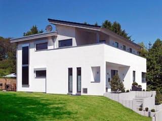 Kubistische Villa von Meisterstück-HAUS Außenansicht 1