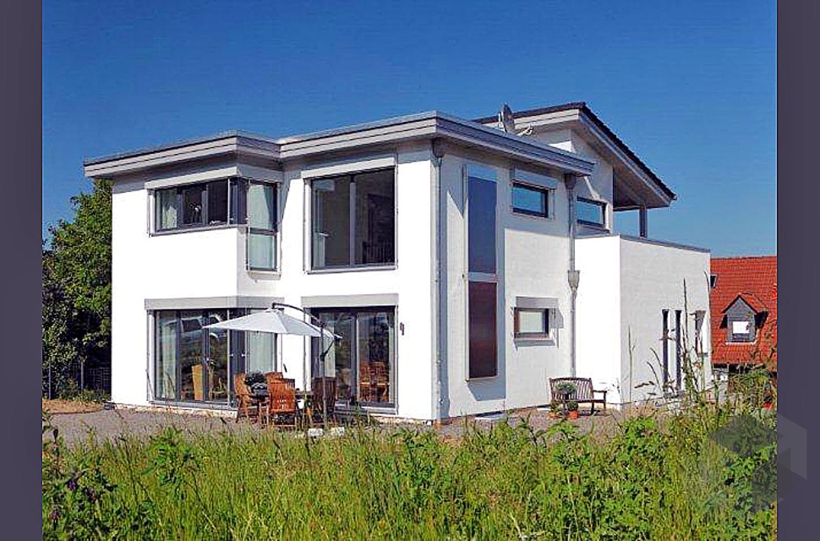 Kubistische Villa von Meisterstück HAUS