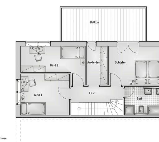 Kubus 55.22 Floorplan 2