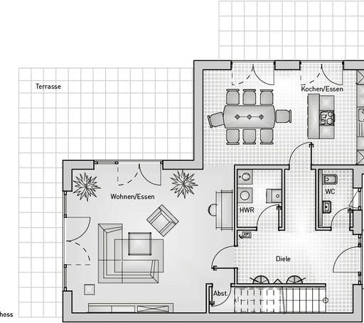 Kubus 25.17 EFH Floorplan 1