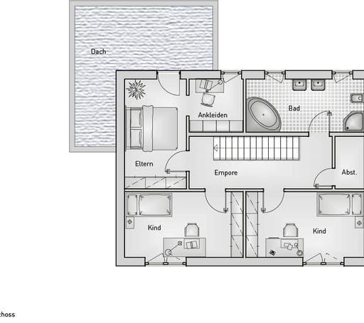 Kubus 25.18 EFH Floorplan 2