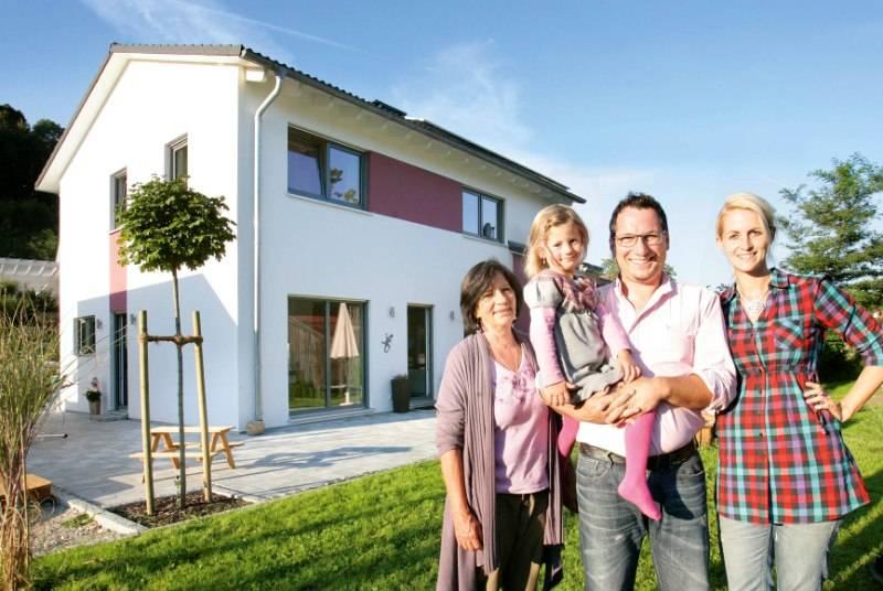 Familie Petry wohnt generationenübergreifend