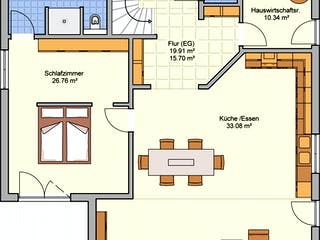 Brilo von Fingerhut Haus Grundriss 1