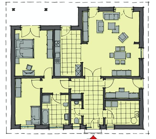 La Roche WhiteLine 40 floor_plans 0