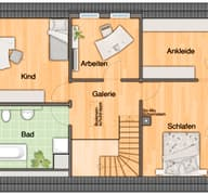 Landhaus 142 - Süd Grundriss