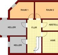Landhaus Kürten (inactive) Grundriss