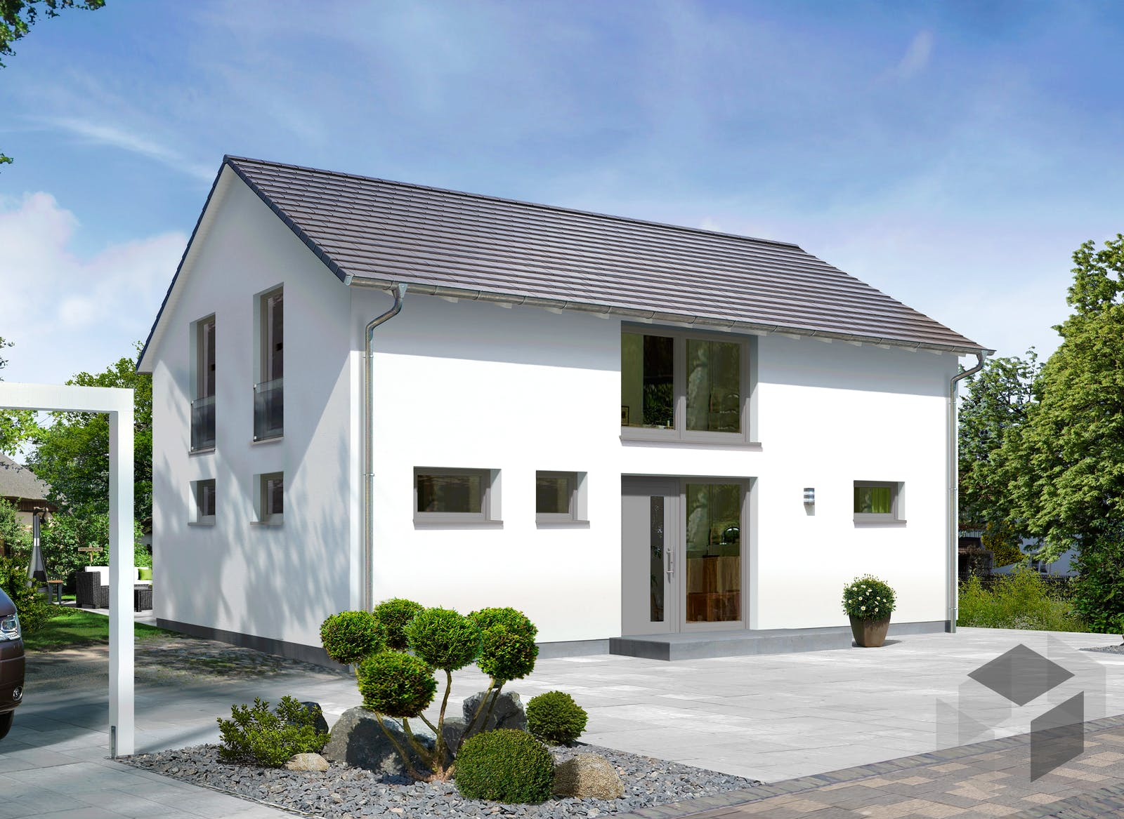 landhaus 142 modern von town country haus komplette daten bersicht. Black Bedroom Furniture Sets. Home Design Ideas