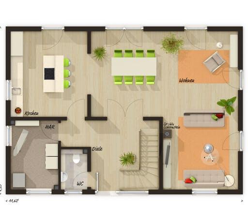 Landhaus 142 Modern Floorplan 1