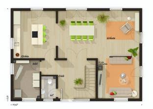 Landhaus 142 Modern Grundriss