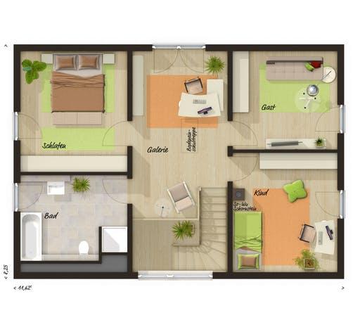 Landhaus 142 Modern Floorplan 2