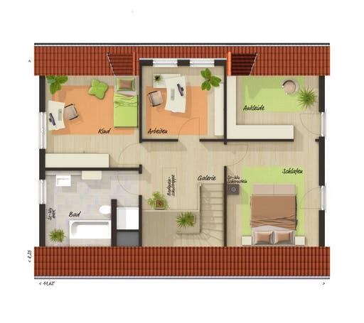 Landhaus 142 Süd Trend Floorplan 2