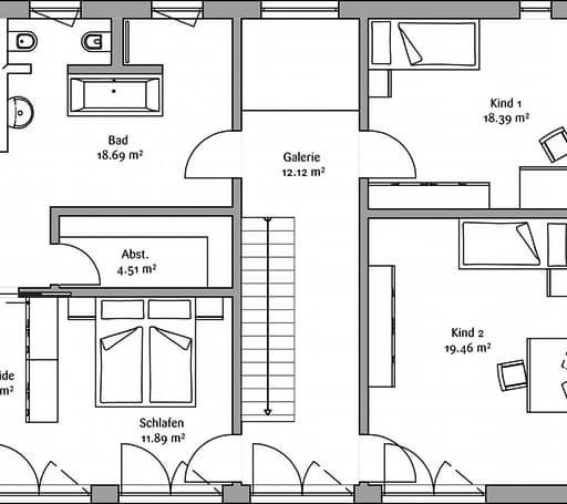 LaStructura Cubus (Passivhaus) floor_plans 1