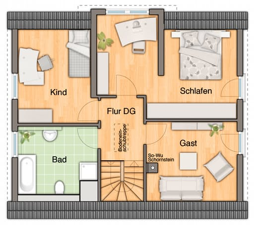 Lichthaus 121 - Pultdach floor_plans 0