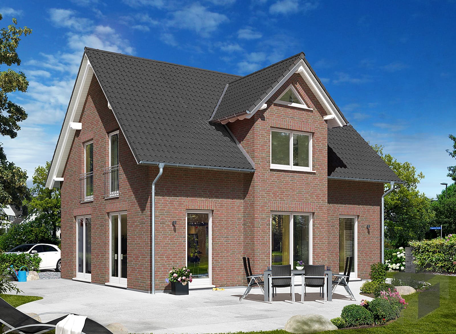 einfamilienhaus lichthaus 121 style von town country haus