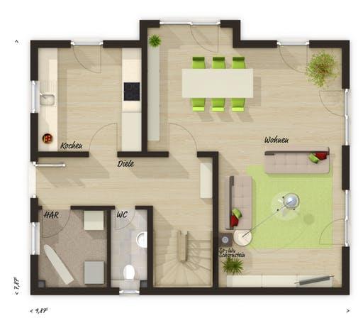 Lichthaus 121 Floorplan 1