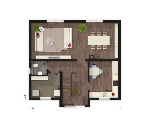Lifestyle 120 Elegance Floorplan 1