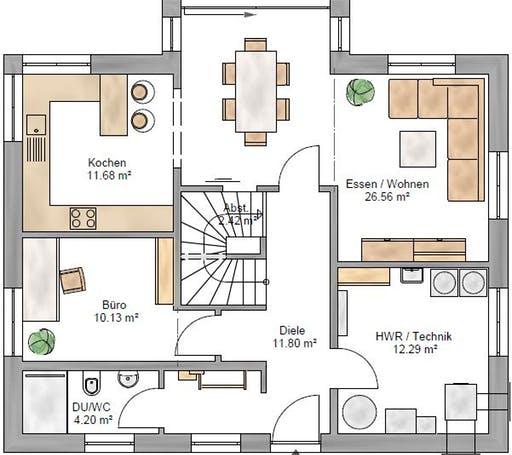 Lifestyle 156 Floorplan 1