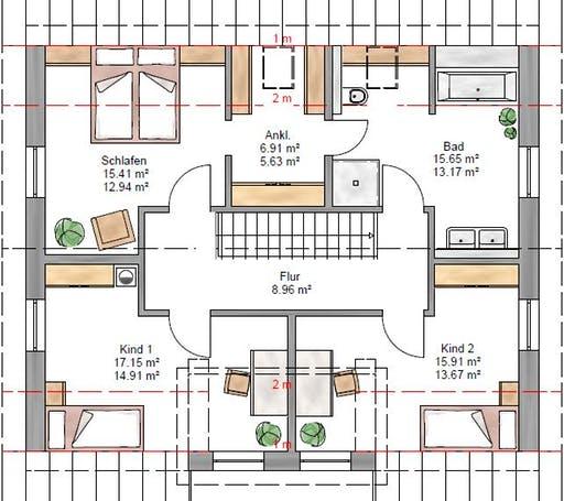 Lifestyle 163 Floorplan 2