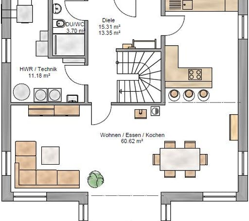 Lifestyle 177 Floorplan 1
