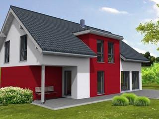 Lifestyle 219 - inkl. umbauter Garage von Suckfüll - Unser Energiesparhaus Außenansicht 1