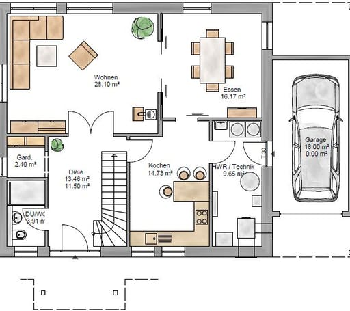 Lifestyle 219 Floorplan 1