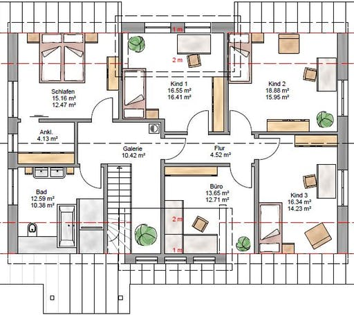 Lifestyle 219 Floorplan 2