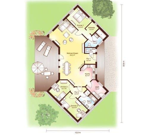 Lillehammer Floorplan 1