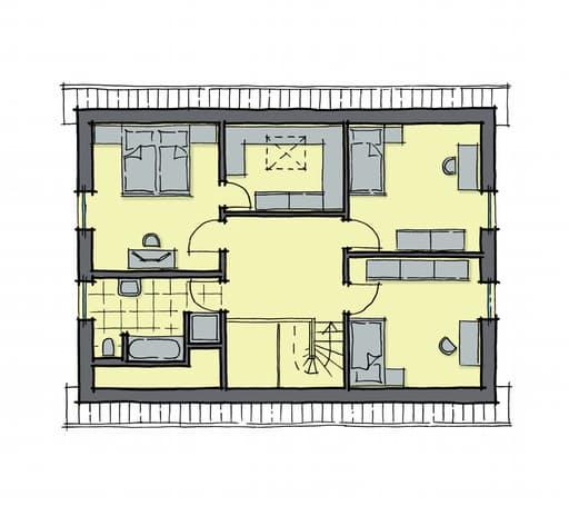 Gussek Haus - Lindenallee Var. 1 DG