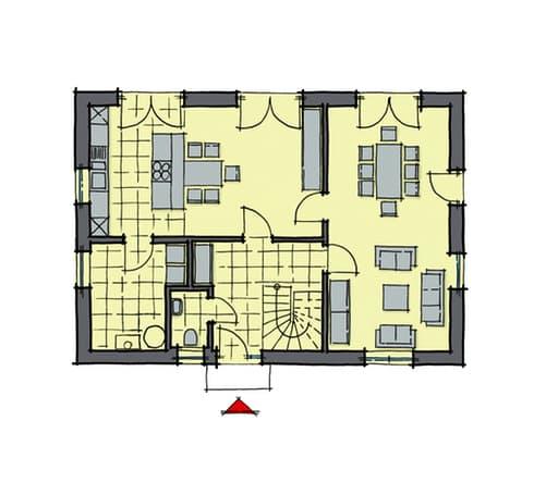 Gussek Haus - Lindenallee Var. 1 EG