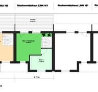 Linn 161 (Reihenmittelhaus) Grundriss