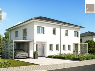 Doppelhaus Linus von Kern-Haus Außenansicht 1