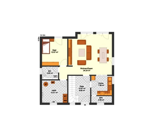 Lisa Floorplan 01