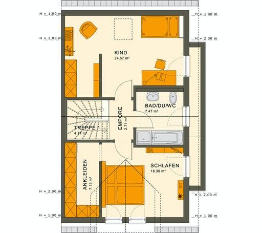 Living Haus - Solution 126 L V2 Floorplan 2