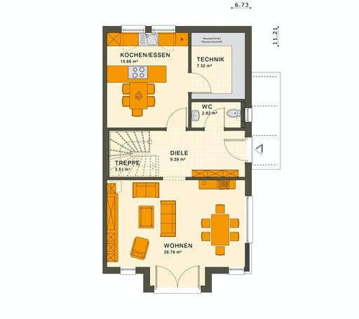 Living Haus - Solution 126 L V3 Floorplan 1