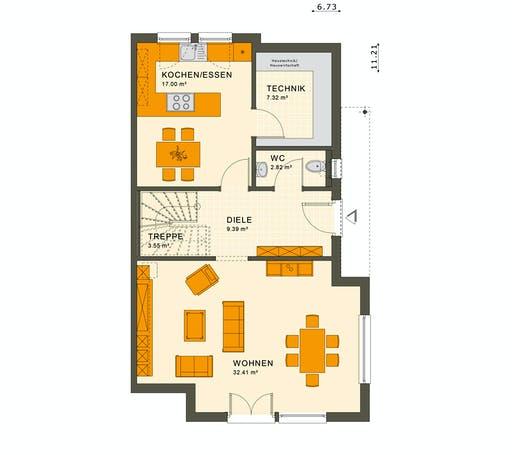 Living Haus - Solution 126 L V5 Floorplan 1