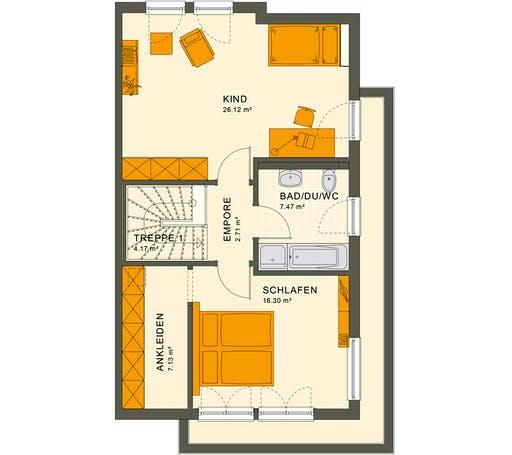 Living Haus - Solution 126 L V5 Floorplan 2