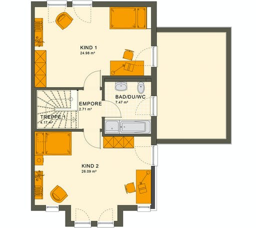 Living Haus - Solution 126 XL V2 Floorplan 2
