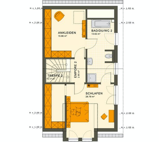Living Haus - Solution 126 XL V2 Floorplan 3