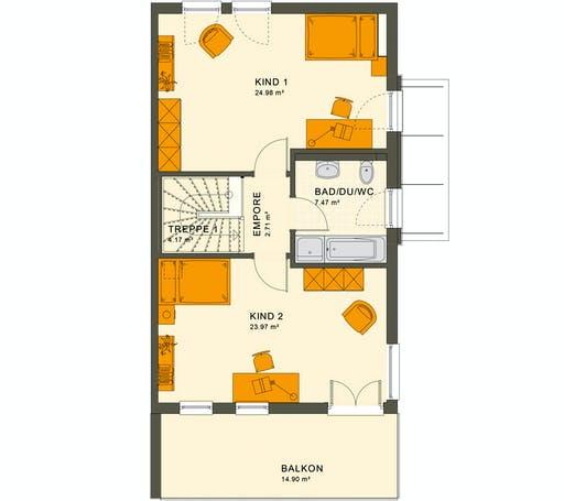 Living Haus - Solution 126 XL V5 Floorplan 2
