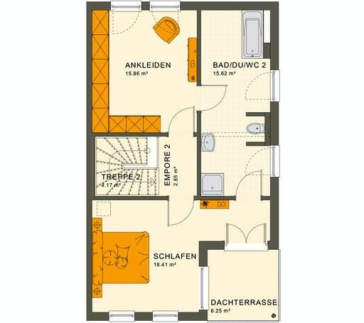 Living Haus - Solution 126 XL V5 Floorplan 3