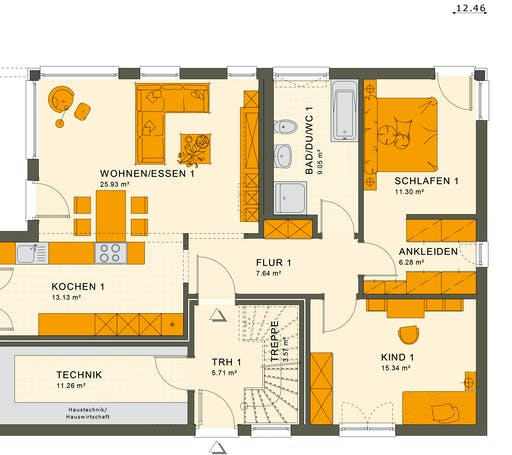 Living Haus - Solution 204 V2 Floorplan 1