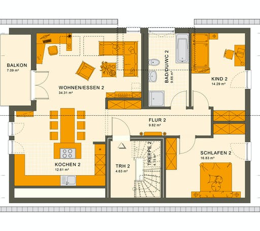 Living Haus - Solution 204 V2 Floorplan 2