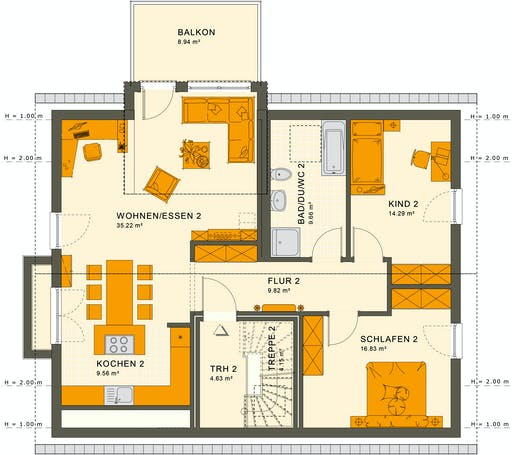 Living Haus - Solution 204 V3 Floorplan 2